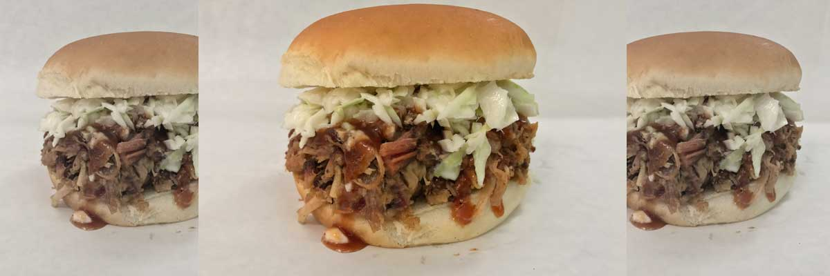 Andy's Amazing Pulled-Pork BBQ Sandwich